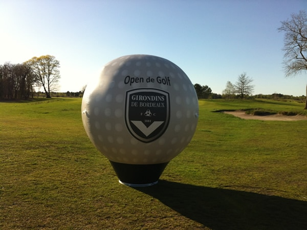 balle golf gonflable
